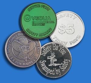 Custom Safety Coins from Osborne