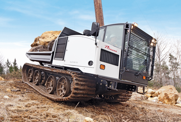 Multitasking Crawler Carriers Serve the Pipeline Industry