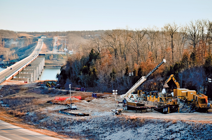 Three Trenchless Bores Deliver Energy to Missouri's Lake of the Ozarks