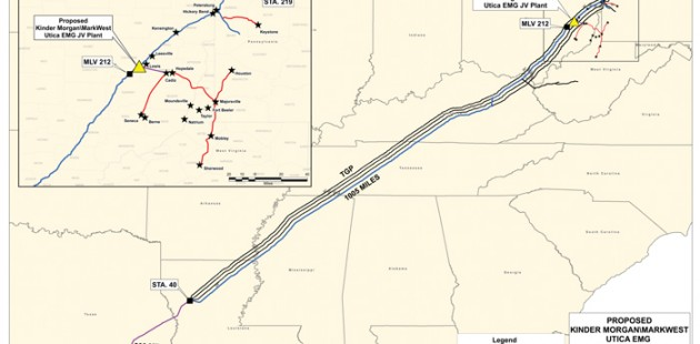 Kinder Morgan's Y-Grade Pipeline Project