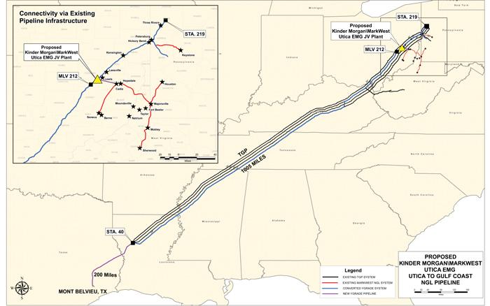 Kinder Morgan's Y-Grade Pipeline Project